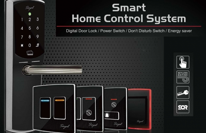 Smart Home Control System  Available for Standalone or Networking System
