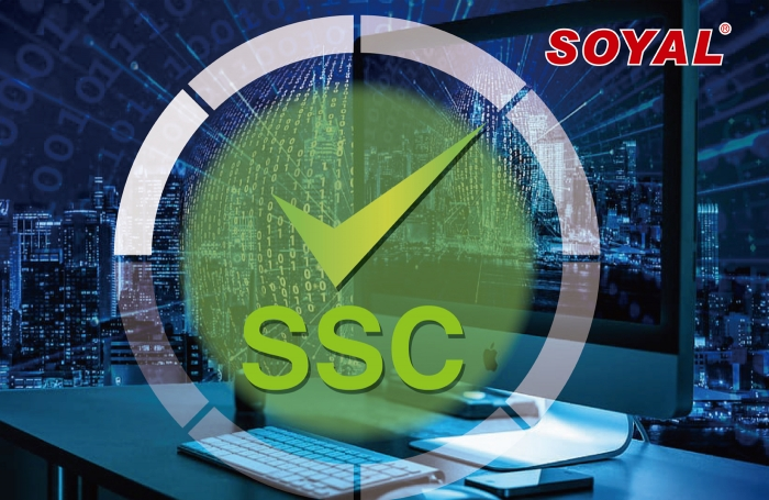 RS-485 SSC (SOYAL Security Communication) encrypted communication