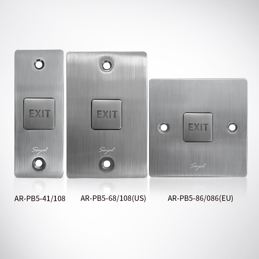 Stainless Steel Push Button(No Power)